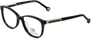 ad6682ab6fedf Carolina Herrera Designer Eyeglasses VHE734K-700Y in Black 50mm DEMO LENS