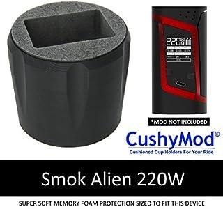 Smok Alien 220 CUP HOLDER by CushyMod * Kit TFV8 Baby Beast Smoktech silicone cupholder case wrap skin sleeve mod memory foam