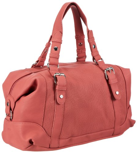 Mexx Damen 13baw012-Perforated Bag Schultertaschen, Orange (Kyoto Sun 828), 39x24x17 cm