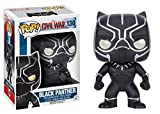 Funko Pop Marvel: Captain America 3: Civil War Action Figure - Black Panther Bundled w/ Protector by...