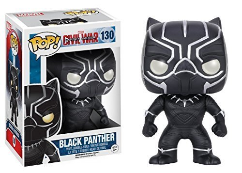Funko POP!: Marvel: Captitán América: Civil War: Black Panther