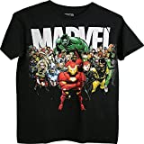 Marvel Universo Iron Man Hulk y otros hombres adultos camiseta (peque?a)