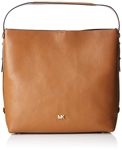 "100% Leather Gold-Tone Hardware 14""W X 13""H X 5.5""D Interior Details: Zip Pouch With Slip Pocket Lining: 100% Polyester"