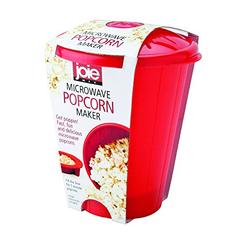Learn More About MSC International Joie Microwave Popcorn Popper Maker, Silicone, Makes 4-Cups