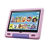 """All-new Fire HD 10 Kids tablet, 10.1"""", 1080p Full HD, ages 3–7, 32 GB, Lavender"""