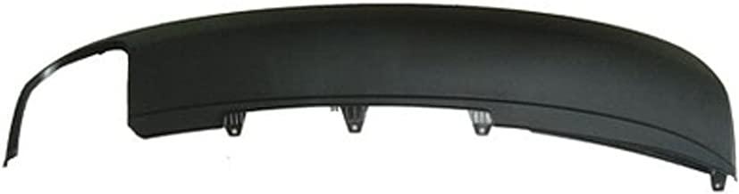 CPP AU1193103 Rear Bumper Spoiler for 09-12 Audi A4, A4 Quattro