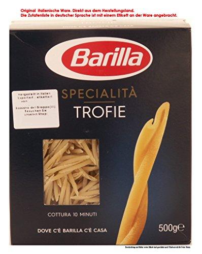 Barilla Specialità Trofie Liguri Teigwaren aus Hartweizengrieß 10 x 500g = 5000g