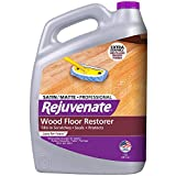 Rejuvenate Professional Wood Floor Restorer and Polish with Durable Finish Easy Mop On Application Satin Finish 128oz