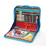 EZDesk Travel Activity Kit, Laptop Style Desk with Writing...