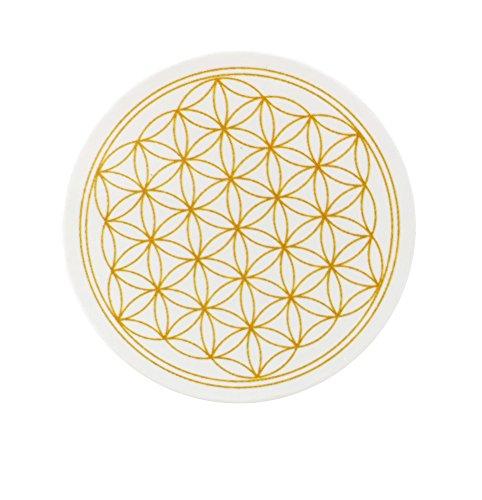 Fiore della vita, magnete, set da 8 pezzi, magneti per frigorifero, lavagne magnetiche e tutte le superfici metalliche