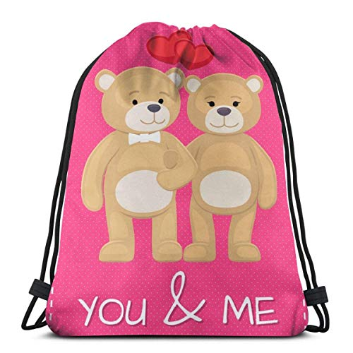 VFBGF Bolsas con cordón Bolsas y cestas de compras Bolsas de compras reutilizables Bolsas de gimnasia Bolsas deportivas Mochilas casuales Look On The Bright Side Drawstring Backpack Bag Lightweight Gy