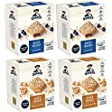 4-Pack Quaker Squares Peanut Butter & Blueberry Soft Baked Bars
