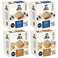 4-Pack Quaker Squares Peanut Butter & Blueberry Soft Baked Bars