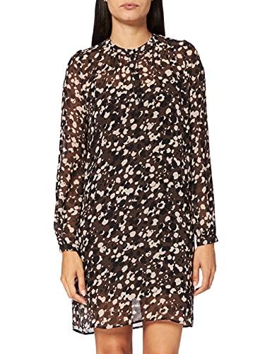 ESPRIT Collection Damen 991EO1E316 Kleid, 203/DARK Brown 4, 40