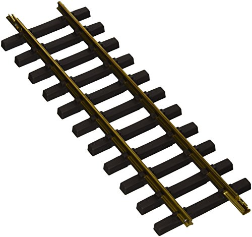 """Bachmann Industries Large """"G"""" Scale Universal Brass Track with 1' Straight (12 per Box)"""