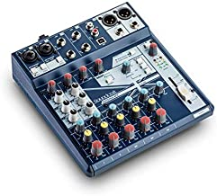 Soundcraft Notepad-8FX Small-format Analog Eight-Channel Mixing Console with USB I/O and Lexicon Effects (5085984US)