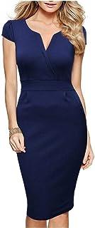 Dark Blue Casual Dress For Women