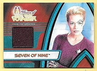 2001 Women Of Star Trek Voyager Archives #F1 Seven Of Nine Costume Relic Card