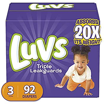 Best luvs diapers size 3 92 count Reviews