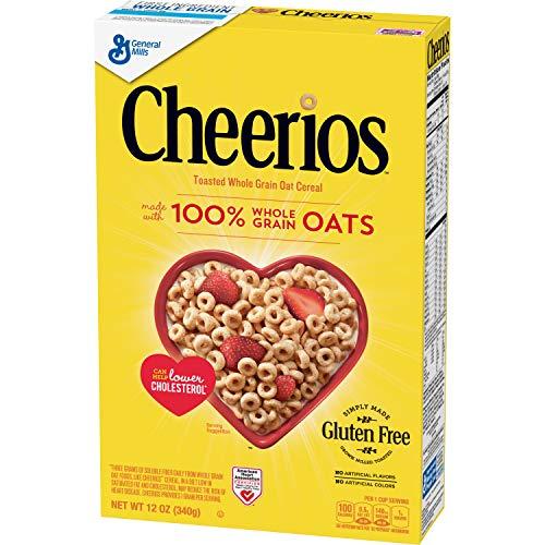 Cheerios, Cereales para tomar en frío - 340 gr