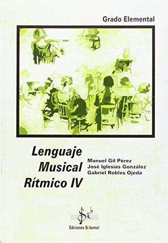 Lenguaje musical r¡tmico IV