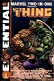 Essential Marvel Two-In-One Volume 1 TPB
