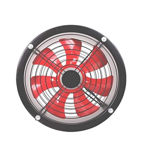MLZWS Escape Cuadrado del Ventilador de Escape, los hogares de Ventana Ventilador 12 Pulgadas de Alta Velocidad, for la ventilación de Escape Proyectos Negro