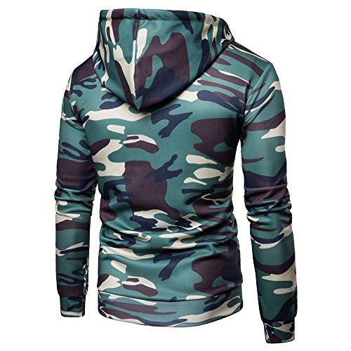 Z&Y Glaa Mens Midnight Camouflage Fleece Tracksuit | Hoodie | Zipper | Joggers Adults Camo Combat Zip Hoodies/Hooded Top - 6 Camo Colours to Choose from! Digital Camouflage Hoodie