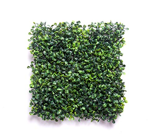 Best Artificial 10 Boxwood Buxus Topiary Hedging Panels Mats Screening Hedge 144 Stems