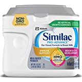 Similac Pro-Advance Non-GMO Infant Formula with Iron, with...