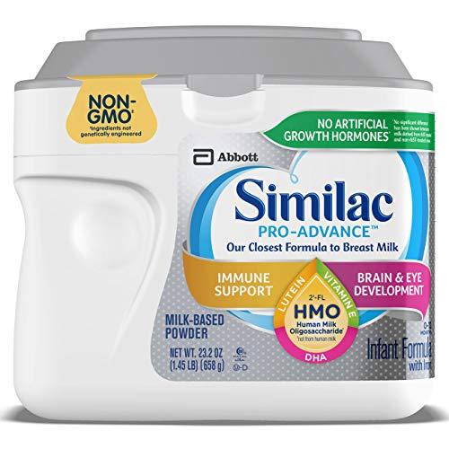 Similac Pro-Advance Infant Formula with 2'-FL Human Milk Oligosaccharide (HMO) for Immune...