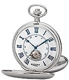 regent - p554 - orologio da taschino, 53 mm