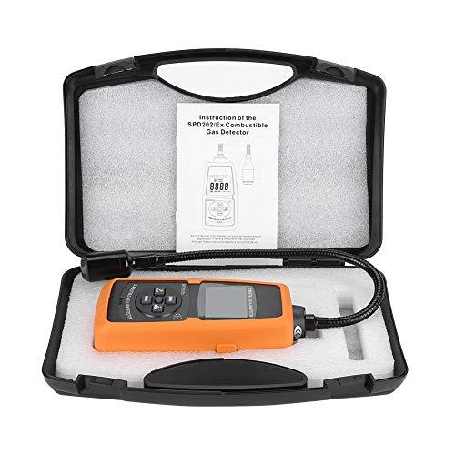 BXU-BG Brennbares Gas-Detektor, SPD202 / EX Digitale brennbares Gas-Detektor natürliche LPG Kohle Alarm Tester Meter-Tool