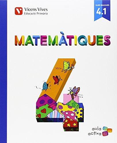 Matematiques 4 (4.1-4.2-4.3) Balears Aula Activa - 9788468228853