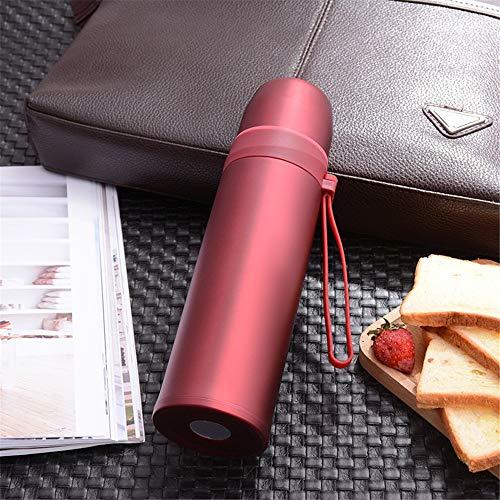 CZPF-ultieme isolatie, dubbele roestvrij stalen thermosfles lichtgewicht cup warhead mode draagbare mok auto glas