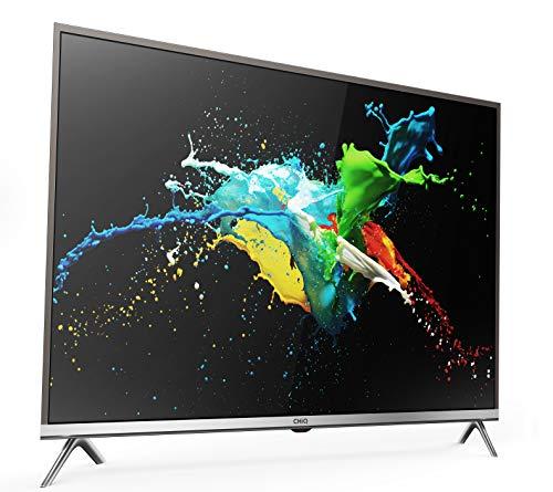 CHiQ Smart 4K TV UHD65E6200ISX2, 65 Pouces (165cm) Ultra Haute Définition, 3840x2160, HDMI, WiFi, Noir