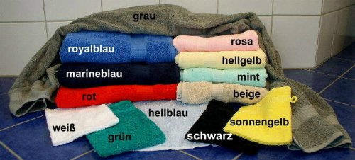 Sauna Handdoek rood