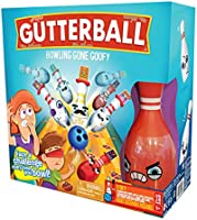 Wilder Games Gutterball - Bowling Gone Goofy - The Family Bowling Game with Fun Challenges