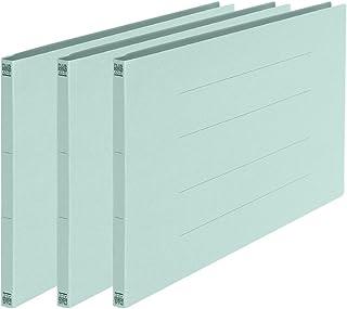 プラス フラットファイル A3横 2穴 3冊パック No.004NP 78-325 ブルー