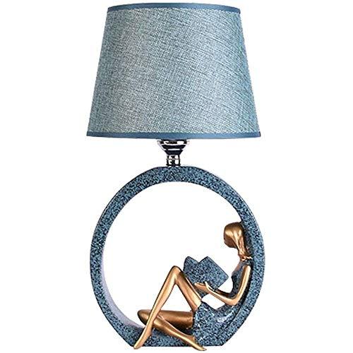 Lámpara de Mesa de Iluminación Decorativa Interior Lámpara de mesa - Floating Lámparas de Plaza moderno Mesa decorativa Conjunto de blanco rectangular sombra for el dormitorio de la sala de la familia