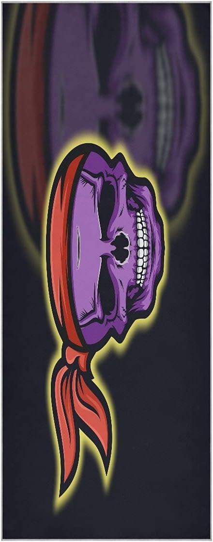FVFV safety Skull Purple Pirates Yoga Towel Super Non Slip New York Mall Odo Mat Soft