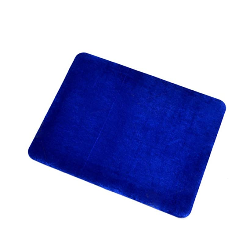 WSNMING Professional Card Mat Blue Pad for Poker & Coin Magic Tricks Magic Props Standard Size