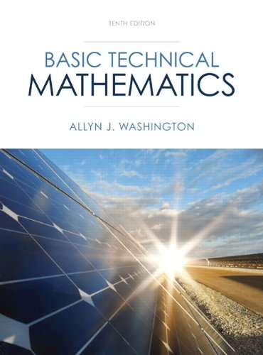 Basic Technical Mathematics (10th Edition)