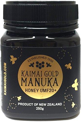 カイマイゴールド マヌカハニー UMF20+ 250g【UMFハニー協会認定 ライセンス番号:2228】正規輸入品《MGO833》非加熱天然はちみつ KAIMAI GOLD MANUKA HONEY