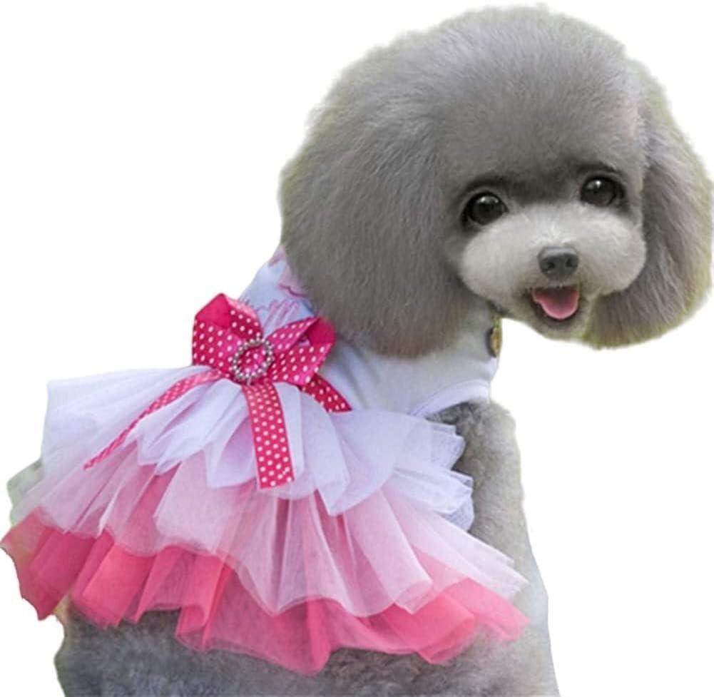 Luckylele Dog Dresses Puppy supreme Dress Pet D Princess Party Great interest