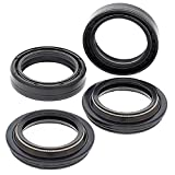 All Balls 56-123 Fork Seal & Dust Seal Kit Compatible with/Replacement for Buell, Honda, Kawasaki, Suzuki
