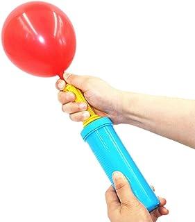 LELE Hand Pump - Double Action Air Pumps for Balloons, Exercise Balls, Yoga Balls, Pool Floats-Random color