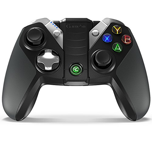 GameSir G4 Pro Wireless Gaming Controller for Android/iOS/PC/Nintendo Switch with Phone Bracket, Bluetooth Mobile Gamepad for Apple Arcade MFi Game