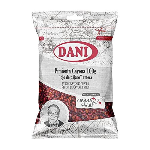 "Dani - Cayena entera tipo ""ojo de pájaro"" 100 gr."