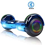"FLYING-ANT  Hoverboards 6.5"" Two-Wheel Self Balancing Electric Scooter with LED Light Flash Lights Wheels with UL 2272 Certified and..."